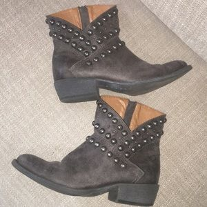 """Coconuts by Matisse""""Cowgirl""""studded ankle bootie"""